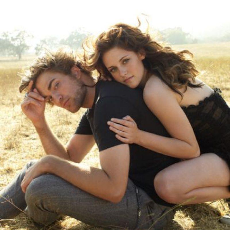 Kristen Stewart y Robert Pattinson Foto:Tomada de internet