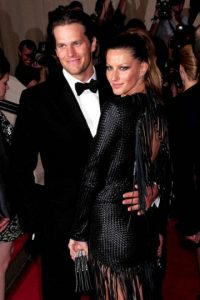 Gisele Bundchen y Tom Brady Foto:AP