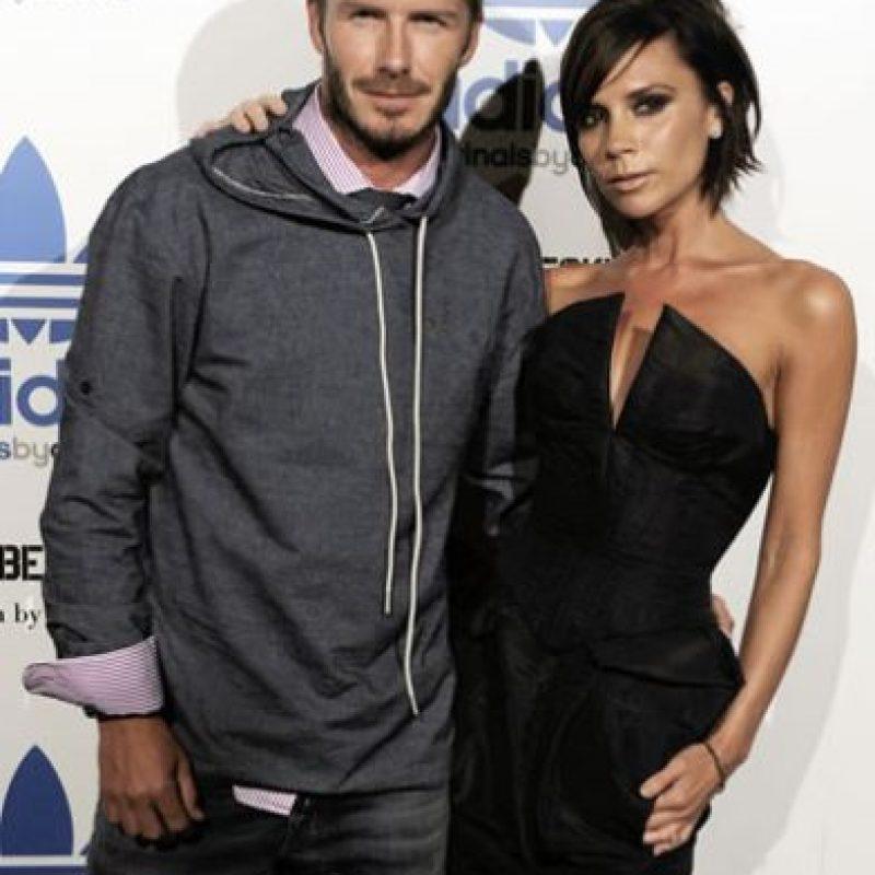 Victoria y David Beckham Foto:Tomada de internet