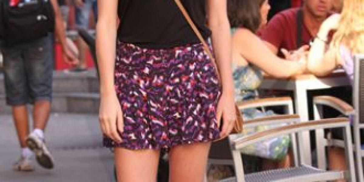 Shorts y micro vestidos para el calor del verano