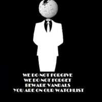 El lema de Anonymous:  Knowledge is free. We are Anonymous. We are Legion. We do not forgive. We do not forget. Expect us! El conocimiento es libre. Somos Anónimos. Somos Legión. No perdonamos. No olvidamos. ¡Espéranos! Foto:Tomada de Internet