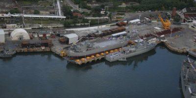"""""""Montes Azules"""", el buque más grande construido en México"""