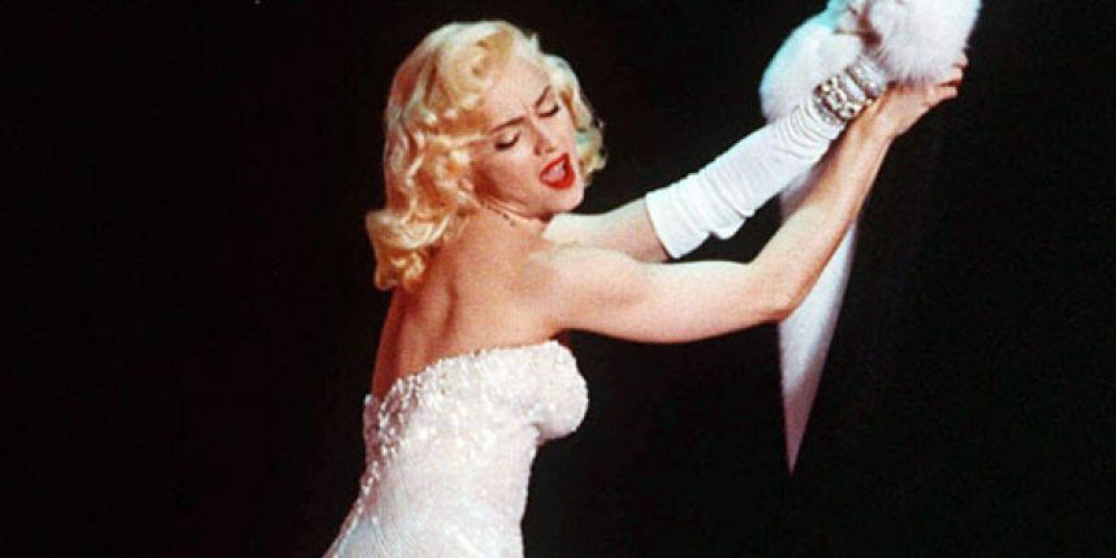 Desde sus inicios, Madonna siempre lució un look como el de la fallecida actriz. Foto:Tomada de Internet
