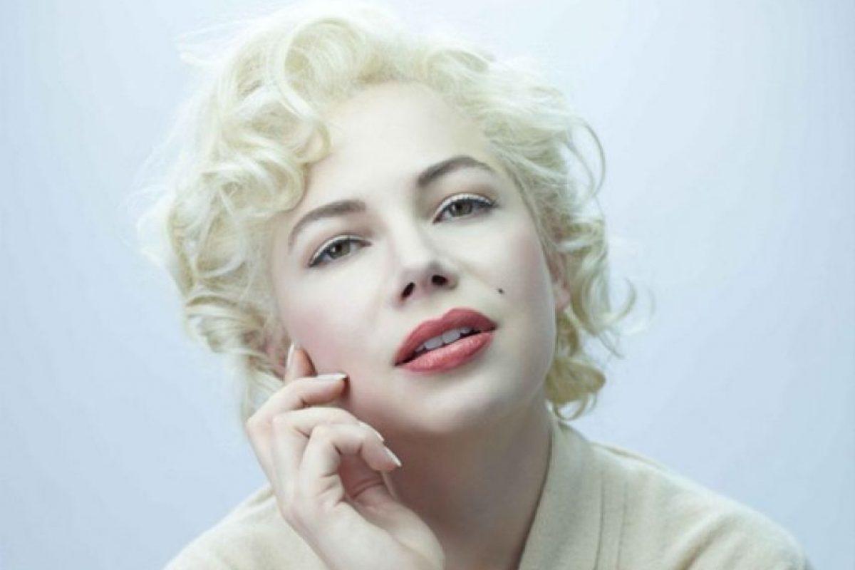La más reciente representación y homenaje de Marilyn Monroe lo podemos ver en la película My Week with Marilyn, protagonizada por Michelle Williams Foto:Google