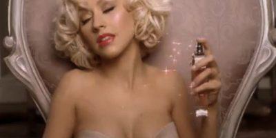 La cantante Christina Aguilera también ha lucido como Monroe en más de un evento. Foto:Tomada de Internet