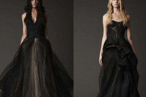 Cambia El Color Con Los Vestidos De Novia Negros De Vera