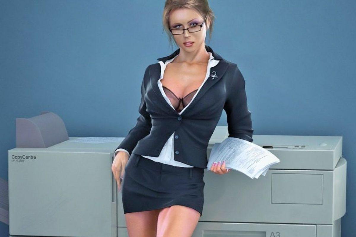 La secretaria: Para ser dominada y coquetear sin límites. Nada más sexy para ellos que verte con una pollera muy corta, una blusa insinuante y unos anteojos que te den ese aire intelectual-erótico Foto:Tomada de Google.com. Imagen Por: