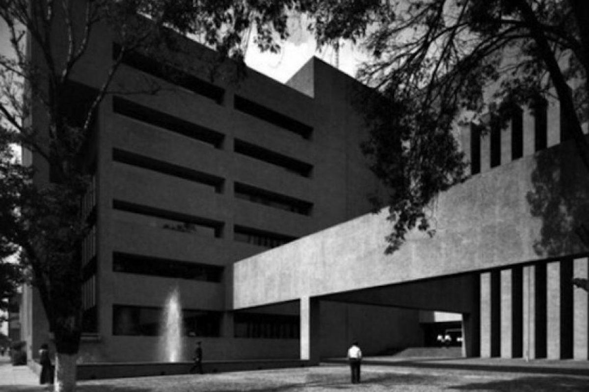 Oficina de Seguros América. Actualmente sede del Tribunal Federal de Justicia Foto:Legorreta+Legorreta