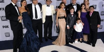 MEJOR SERIE COMEDIA: Modern family Foto:AP