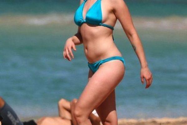 Diminuto Johansson México Su Bikini Scarlett TurquesaPublimetro Y MVUGSpqz