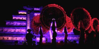 Cumbre Tajín, Veracruz: Un festival que celebra la herencia totonaca y la riqueza arqueológica de la Ciudad Sagrada de El Tajín con una muestra de ceremonias prehispánicas, conciertos, danzas, exposiciones y proyecciones Foto:Notimex
