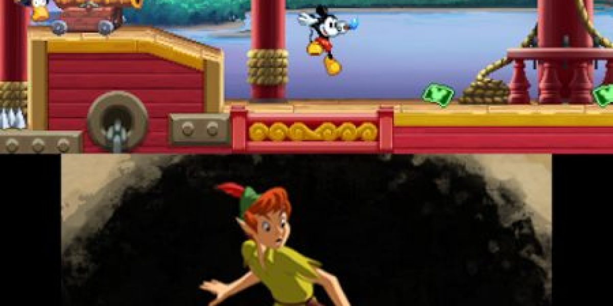 Disney Epic Mickey: Power of Illusion, en camino a Nintendo 3DS