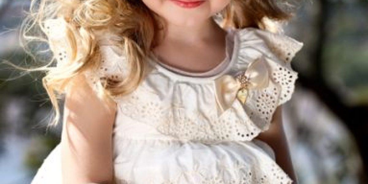 Con cinco años de edad, Duda Bundchen ya es diseñadora de moda