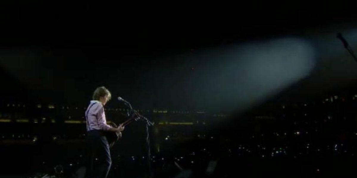 Paul McCartney hace historia en el Zócalo capitalino