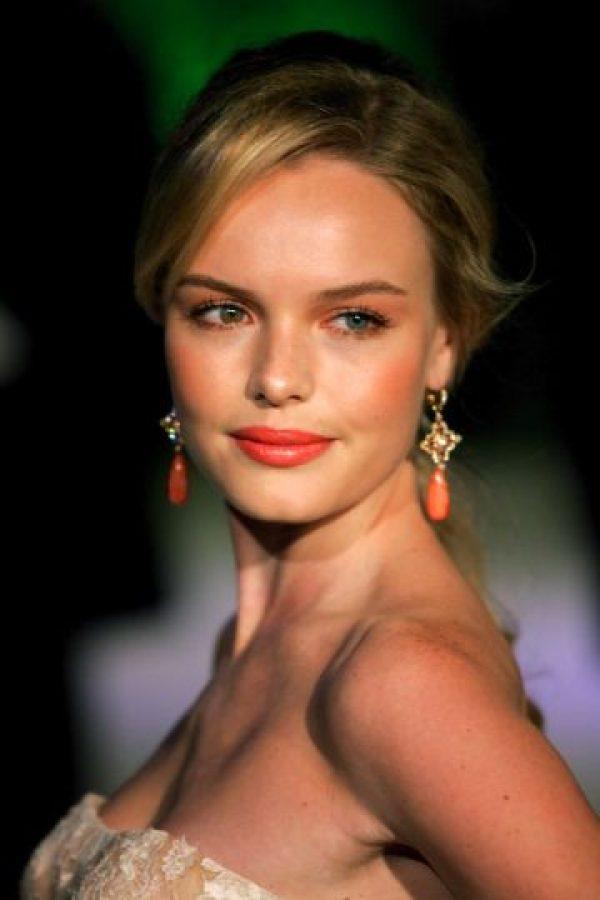 Puede que nunca hayas puesto atención pero los ojos de Kate Bosworth no son del mismo color. Foto:Google