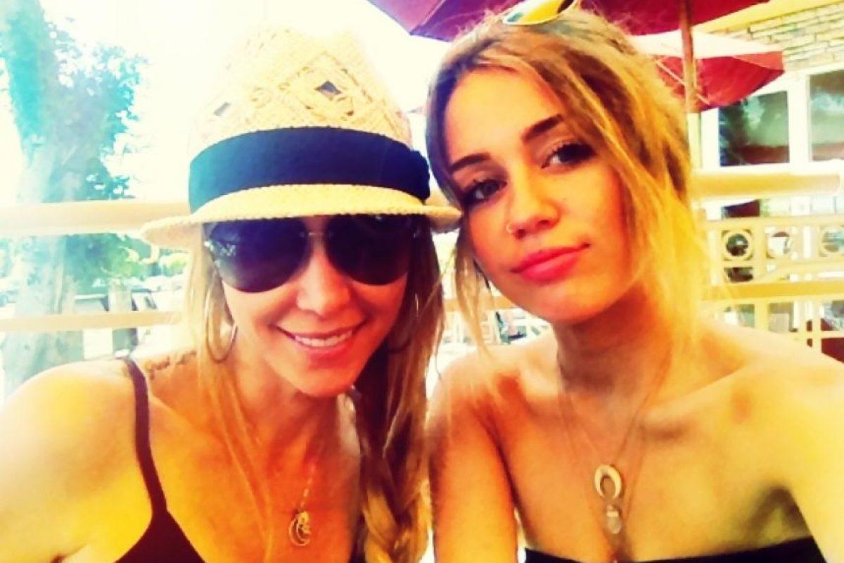 Miley Cyrus. Foto:Twitpic.com