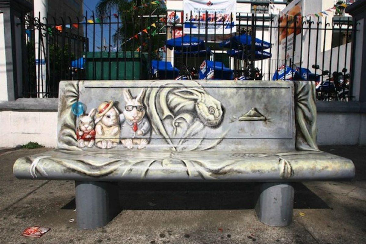 """Pintada con motivos de la obra fantástica """"Alicia en el país de las maravillas"""" se ubica en los cruces de López Cotilla y Chapultepec. Foto:Alfredo Moya/Publimetro. Imagen Por:"""