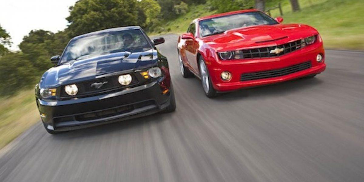 Ford Mustang Gt Vs Chevrolet Camaro Ss Publimetro M 233 Xico