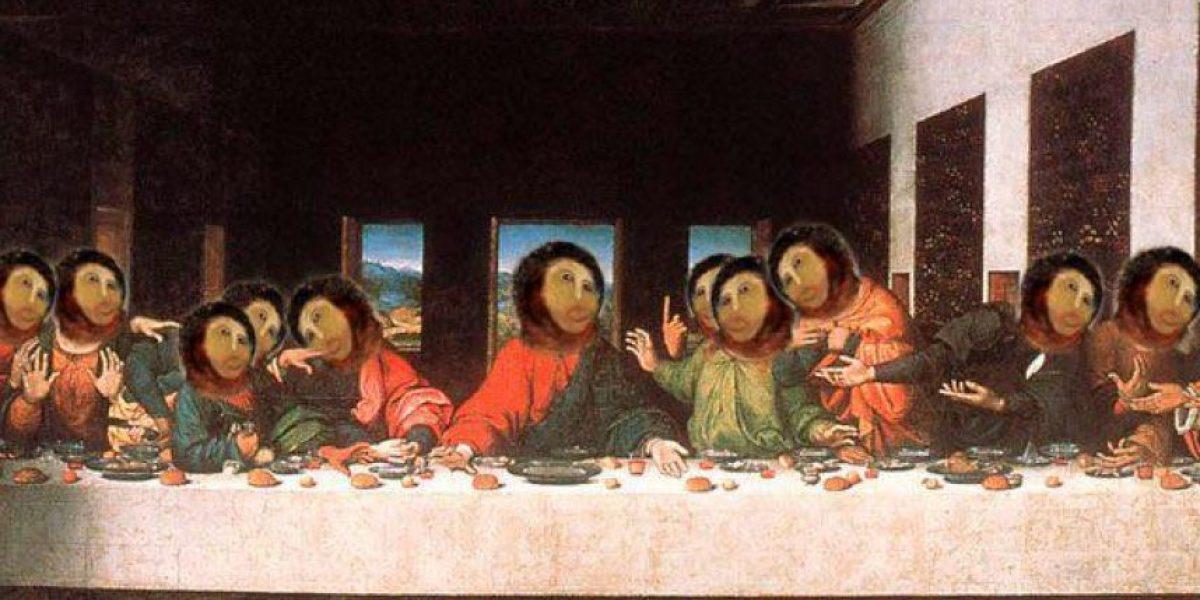 Los memes de la obra de arte destruida por una anciana