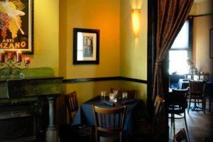 Café di Scala, Des Moines, Iowa, dedica el primer domingo de cada mes a John, Paul, George y Ringo Foto:cafediscala.com. Imagen Por: