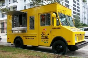 The Yellow Submarine circula en Miami vendiendo hamburguesas, hoy dogs y sandwiches Foto:thedailymeal.com