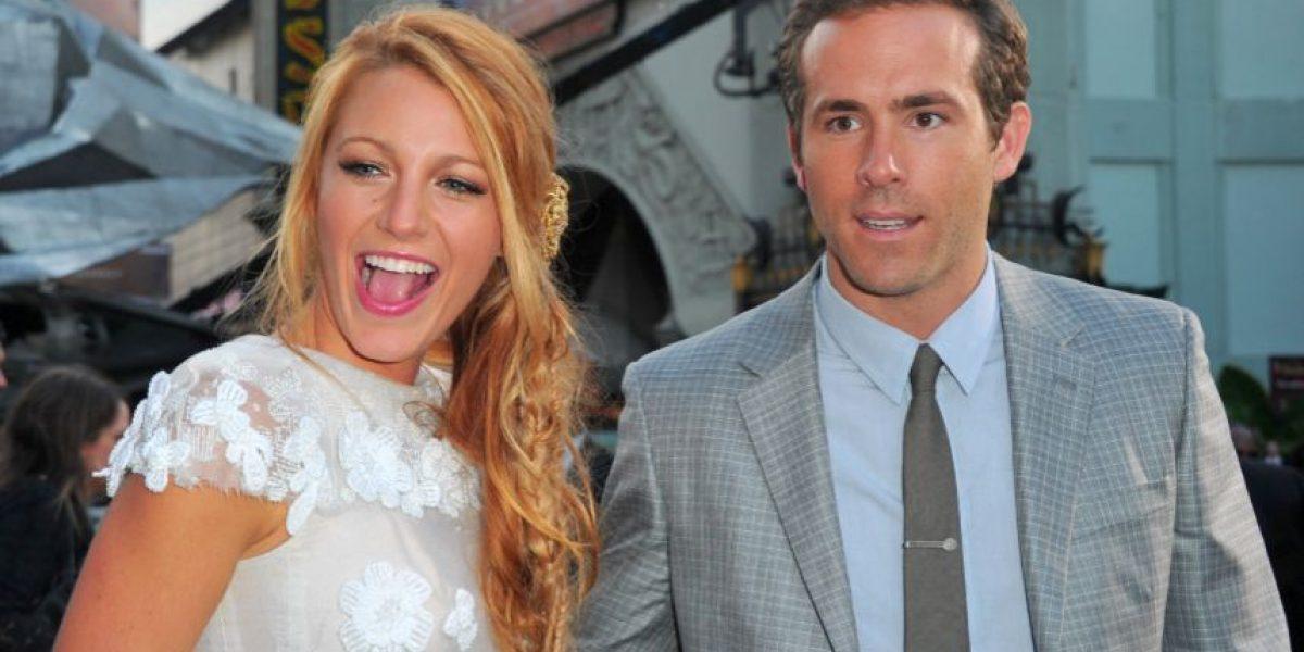 Blake Lively y Ryan Reynolds ya son marido y mujer