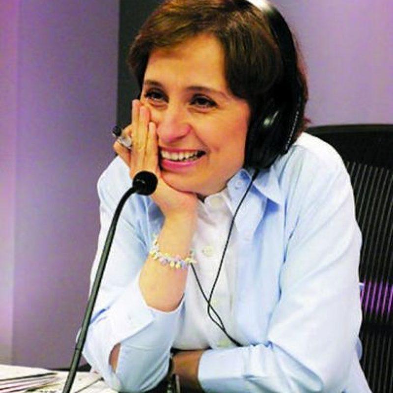 Líder de opinión – La periodista Carmen Aristegui Flores ha destacado por mantener una línea de trabajo que la ha llevado a situaciones difíciles. Después de un 2011 bastante complejo para Aristegui, en este 2012, sigue siendo líder en las comunicaciones por su objetividad al entrevistar a personajes polémicos y al enfrentar a diferentes sectores Foto:Cuartoscuro