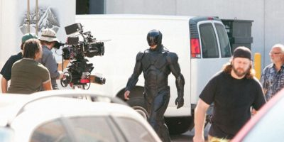 Imágenes del rodaje de la película RoboCop