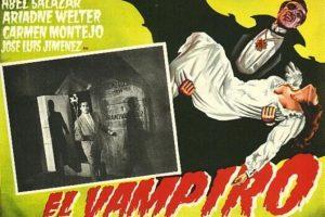 El vampiro es una cinta de Fernando Méndez. La mejor cinta de vampiros rodada en México protagonizada por Abel Salazar. Foto:Archivo