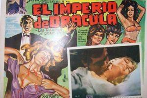 El imperio de Drácula, de Federico Curiel, en la que Éric del Castillo interpreta eficientemente al Barón Draculstein. Foto:Archivo