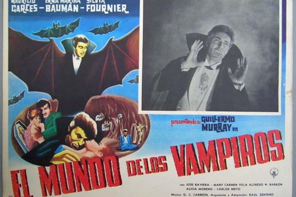Participó en El mundo de los vampiros, le dio un toque más aristocrático al personaje. Foto:Archivo