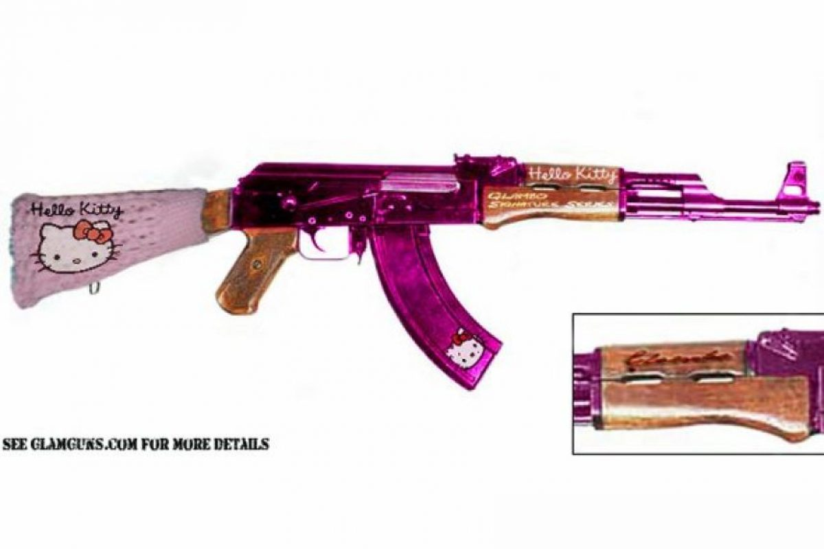 Ak-47 de Kitty  Foto: http://www.businessinsider.com/