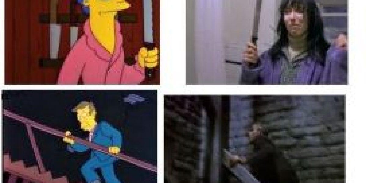 Escenas de Los Simpson y sus referencias en el cine