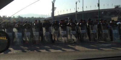 FOTOS: Granaderos repliegan a manifestantes en CU