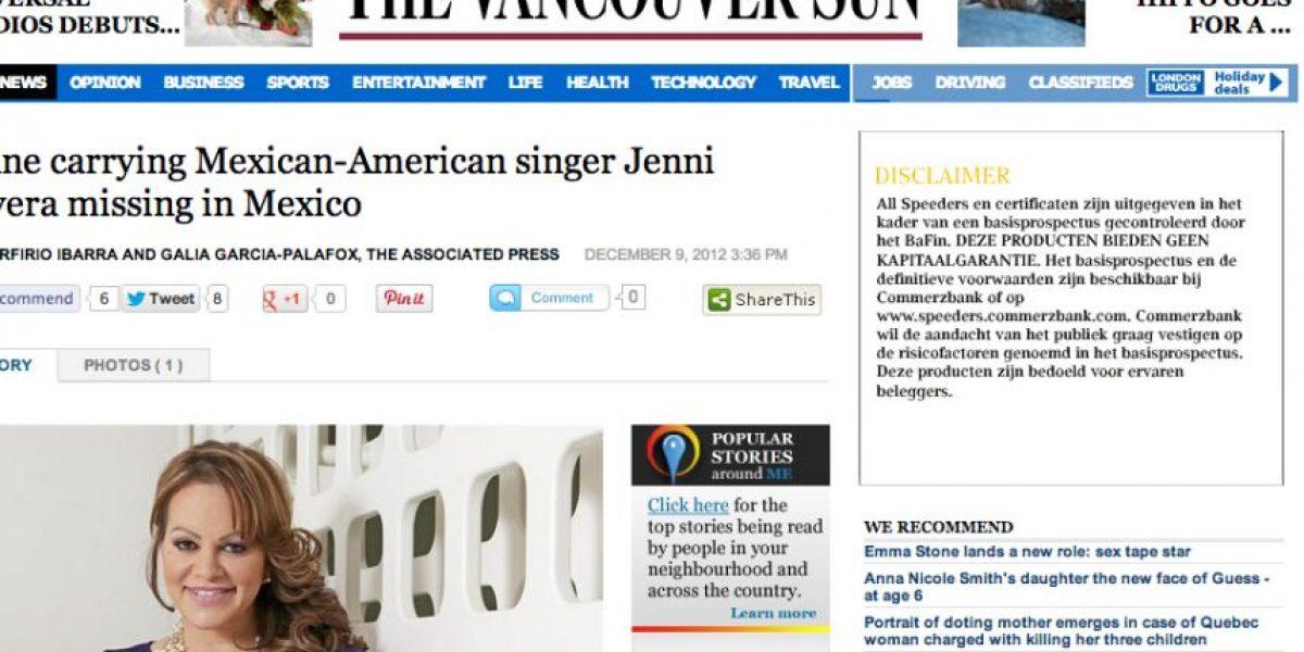 FOTOS: La muerte de Jenni Rivera dio la vuelta al mundo