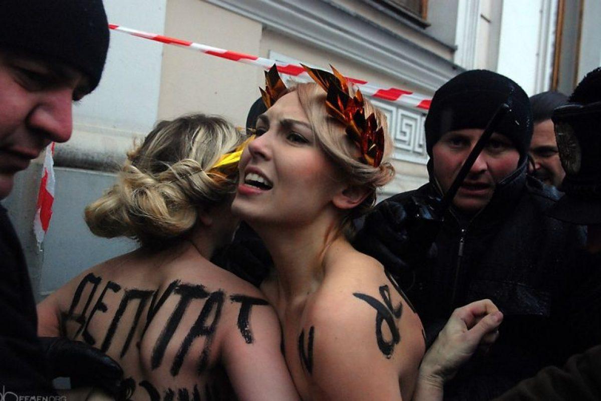 Foto:Femen. Imagen Por: