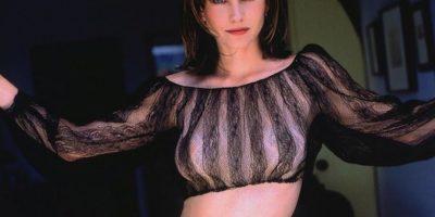 FOTOS: Courteney Cox disfruta filmando desnuda
