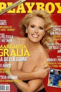 Margarita Gralia posó para la revista del conejito en 2004. Foto:Playboy