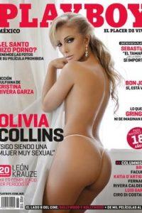 En septiembre de 2010 Olivia Collins se despojó de sus ropas para demostrar que a sus 53 años tenía todo para posar en la revista del conejito. Foto:Playboy