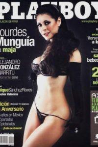 Lourdes Munguía tampoco desilusionó a sus fans y posó para Playboy su escultural figura. Foto:Playboy