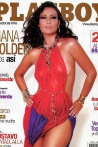 La actriz Diana Golden fue otra de las favoritas. Su madurez y belleza cautivó aún más a sus seguidores. Foto:Playboy