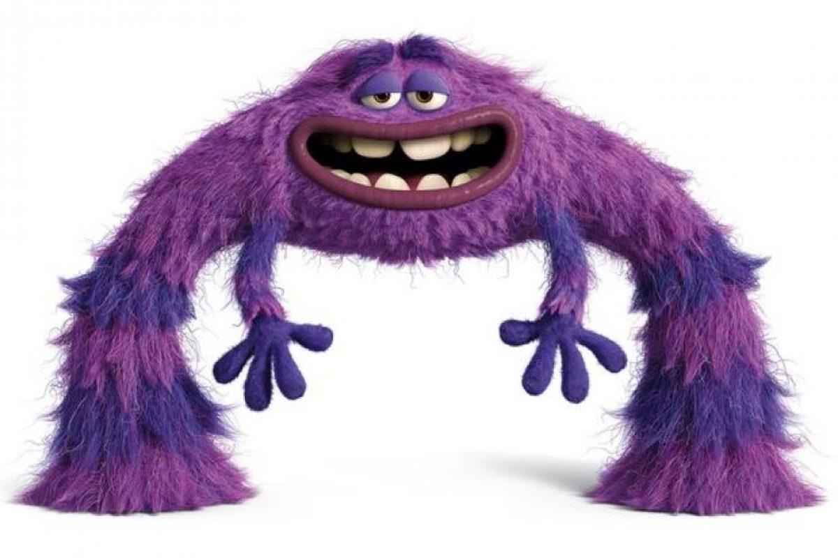 El máximo espíritu libre, 'Art' es un monstruo misterioso con un pasado cuestionable. Es el más extraño miembro de Oozma Kappa, y derriba la competencia con su destreza única y sus modales. Nada es más aterrador que lo imprevisible, sobre todo cuando se trata de esta bola peluda de maldad. Foto:Pixar Animation Studios. Imagen Por: