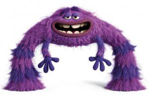 El máximo espíritu libre, 'Art' es un monstruo misterioso con un pasado cuestionable. Es el más extraño miembro de Oozma Kappa, y derriba la competencia con su destreza única y sus modales. Nada es más aterrador que lo imprevisible, sobre todo cuando se trata de esta bola peluda de maldad. Foto:Pixar Animation Studios