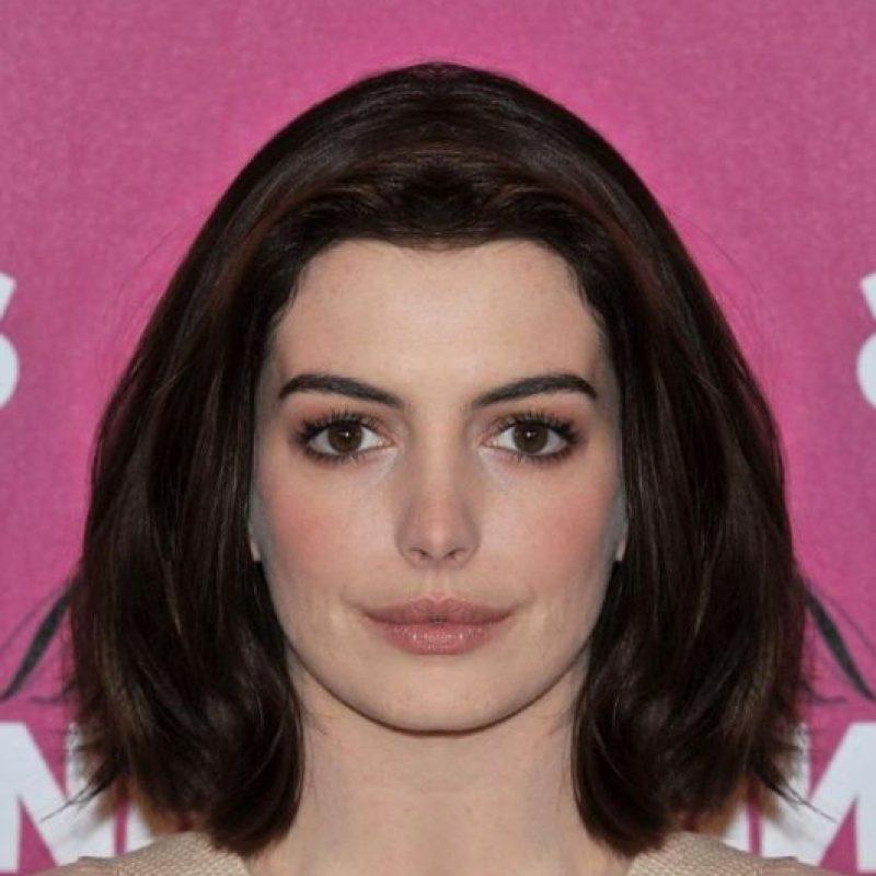 Anne Hathaway Gana: FOTOS: Si La Simetría Del Rostro De Los Famosos Fuera