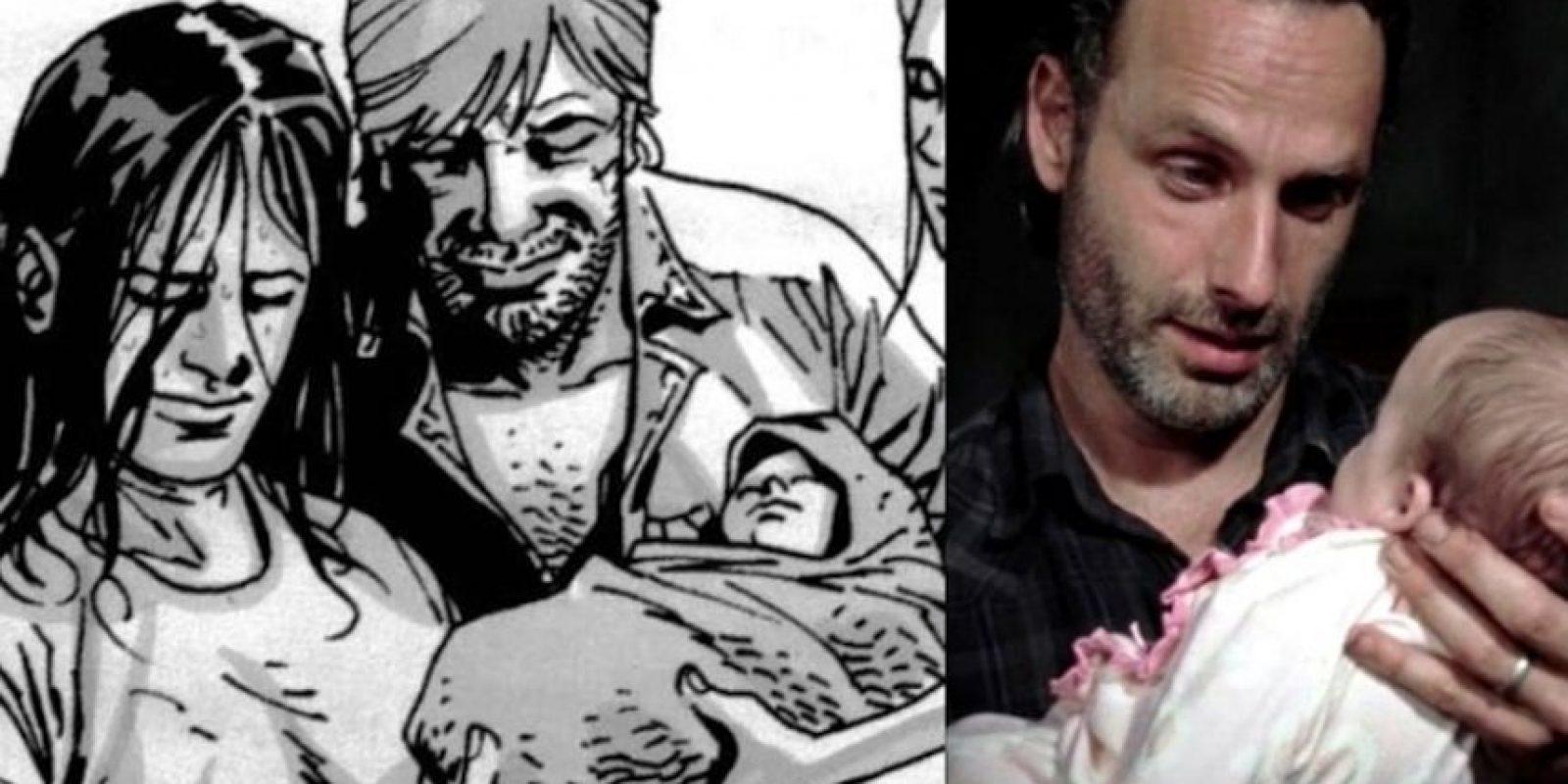 Judith Grimes, la recién nacida hija de Rick y Lori, hermana de Carl Foto:Especial