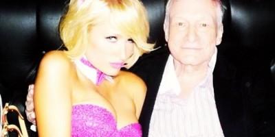 Paris Hilton posa como conejita de Playboy