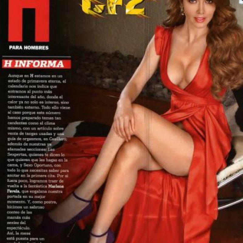 Marlene favela lenceria en revista h - 5 3