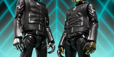 Crean figuras de acción de Daft Punk
