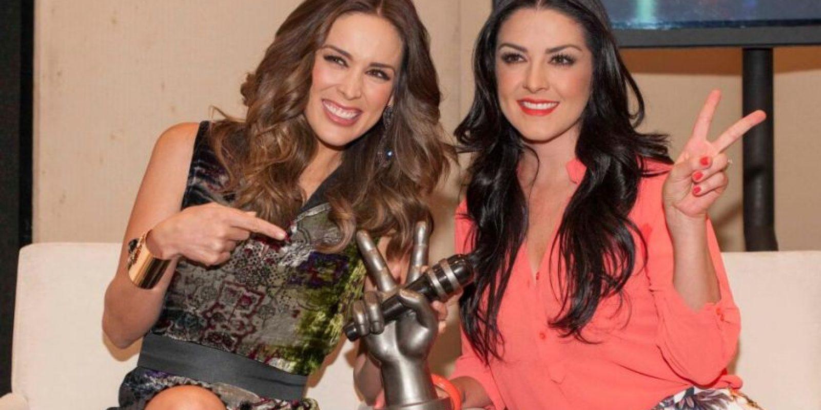 """Jacqueline Bracamontes y Lidia Ávila serán las conductoras de la tercera temporada de """"La voz… México"""" Foto:Cortesía"""