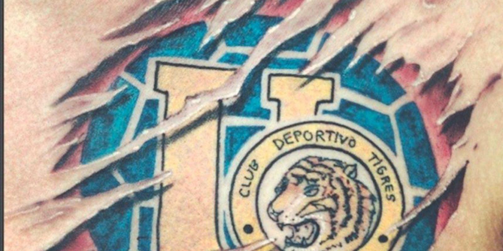 Fotos Guerra De Tatuajes Tigres Vs Rayados Publimetro México